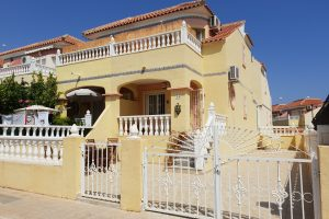 Two bedroom South-facing quad house for sale near beaches and La Zenia Boulevard
