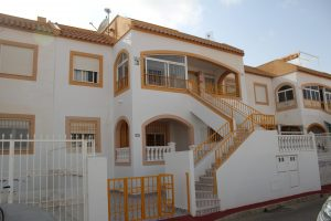 South-facing two bedroom, one bathroom ground floor apartment for sale in Torrevieja
