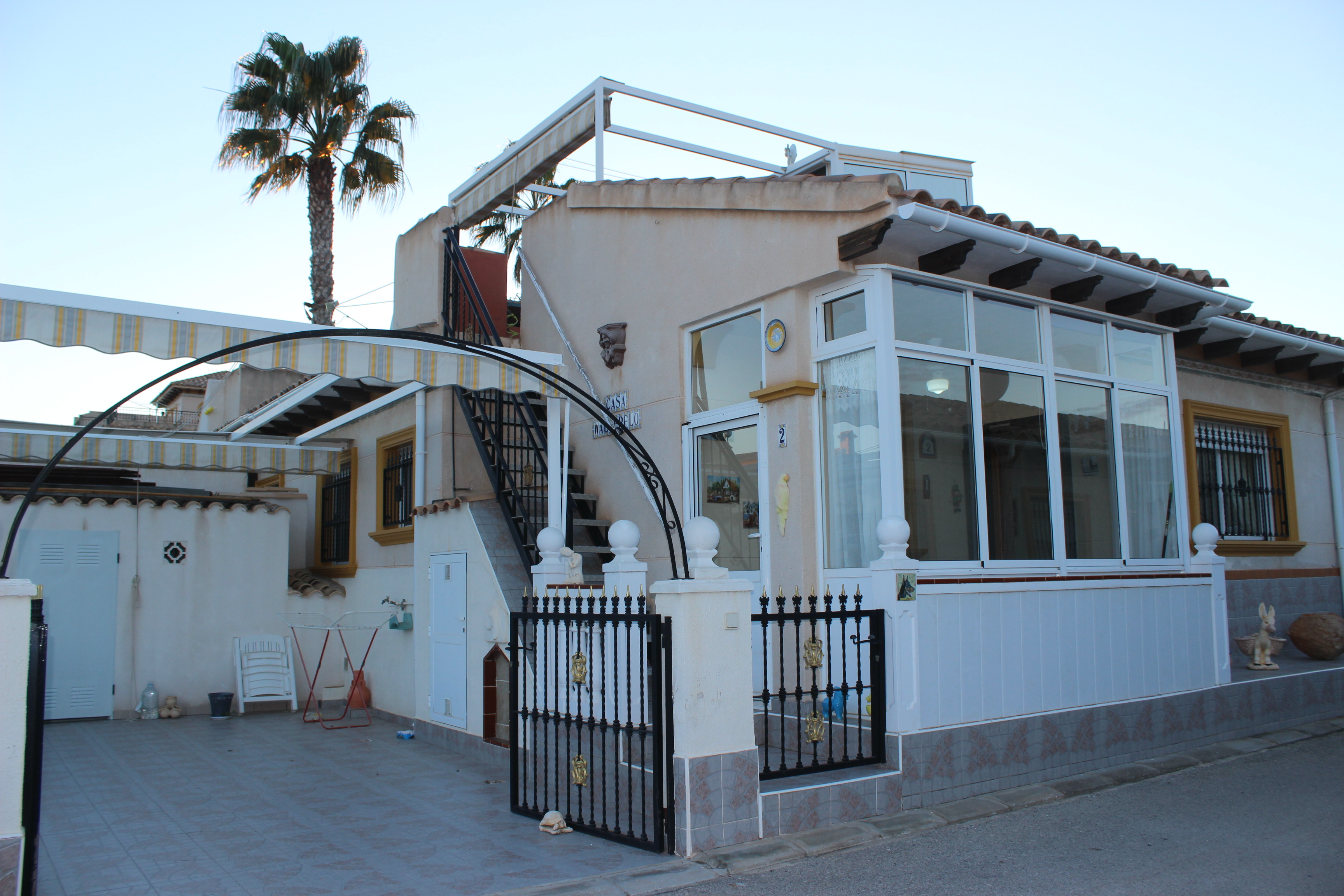 Nice two bedroom Marbella bungalow for sale on popular Playa Flamenca urbanisation