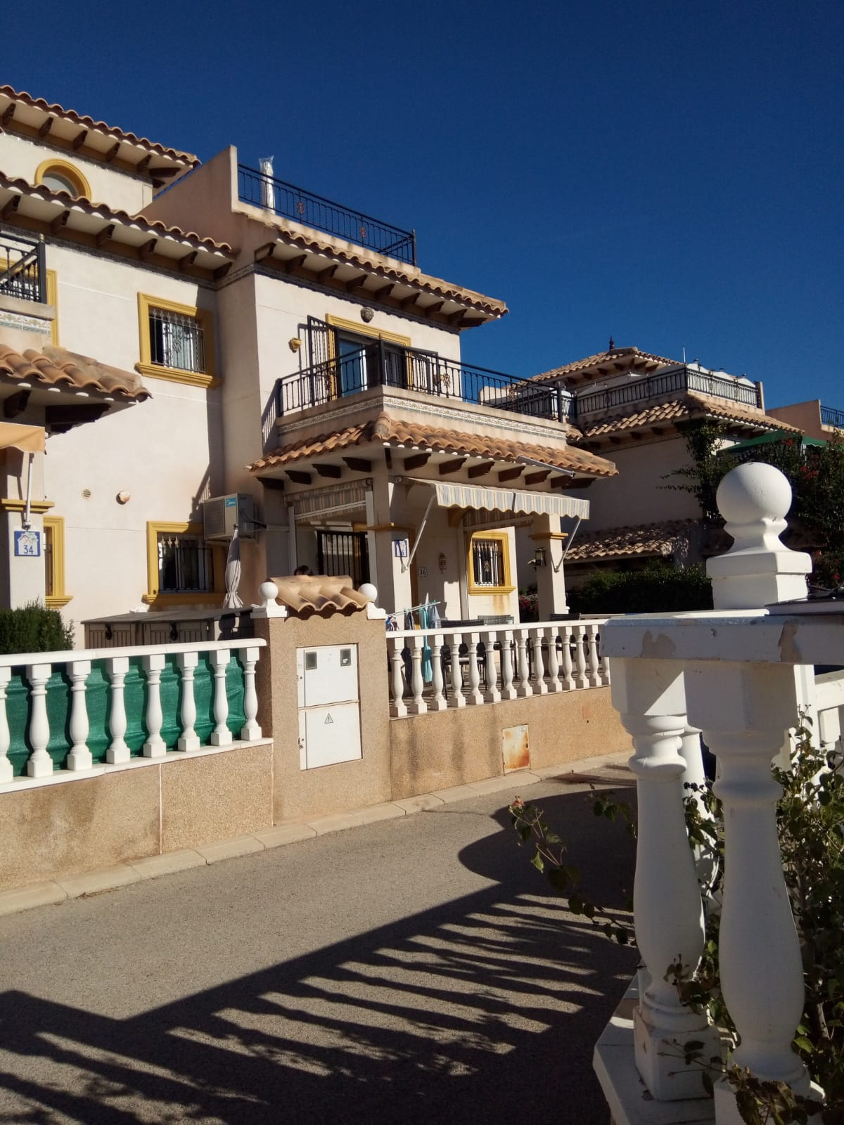 Beautiful two bedroom San Jose quad house for sale in Cabo Roig