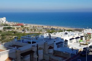 Reformed studio apartment with stunning sea views for sale in La Mata