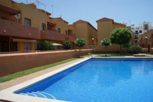 Two bedroom, one bathroom beachside townhouse on popular Cabo Roig urbanisation