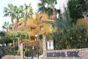 Two bedroom ground floor apartment in the prestigious Residential Panorama Park in Punta Prima