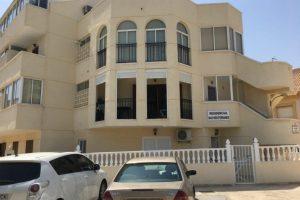 Two bedroom, one bathroom first floor apartment for sale beachside La Zenia on the Orihuela-Costa