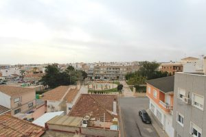 Cheap two bedroom, one bathroom apartment for sale in Spanish village of San Miguel de Salinas