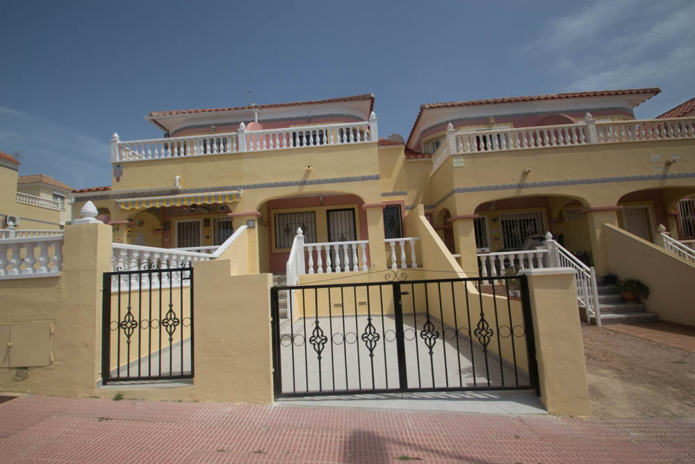 3 bed, 2 bath duplex, 2 terraces in Blue Lagoon, secure urbanisation with communal pool