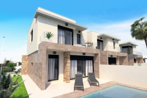 Three bedroom, three bathroom high quality new build property for sale in Torre de la Horadada