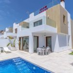 Three bedroom, three bathroom quality detached villas just 300m from beautiful sandy beaches