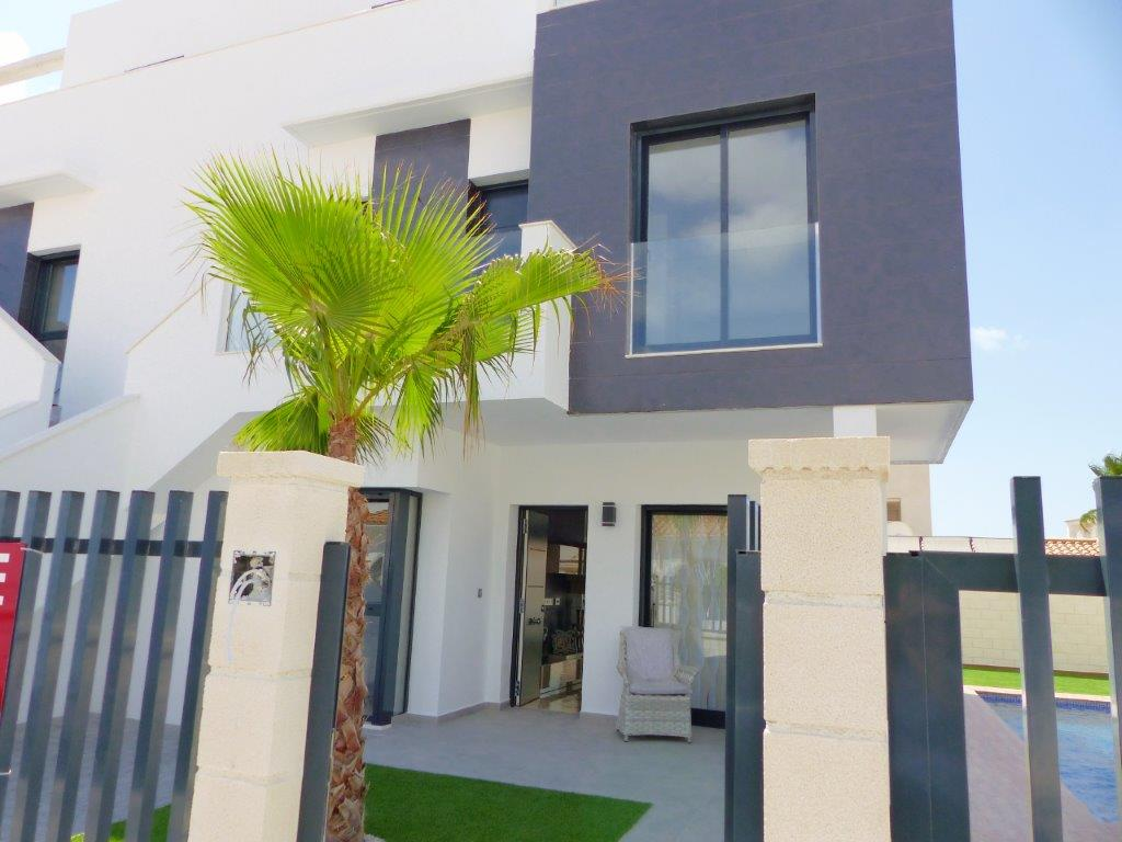 Two bedroom two bathroom quality new build property for sale on the Orihuela-Costa