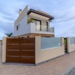 Three bedroom modern detached villas for sale in San Pedro del Pinatar