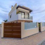 Three bedroom modern detached villas for sale in San Pedro del Pinatar