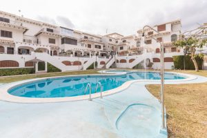 Three bedroom, two bathroom South-facing triplex property for sale in Cabo Roig