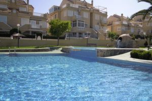 Lovely two bedroom ground floor apartment for sale in Torreblanca, La Mata