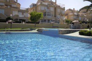 Lovely two bedroom ground floor apartment for sale in Torreblanca, La Mata