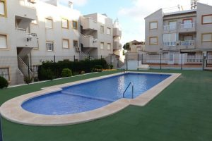 Two bedroom, large terrace, ground floor apartment for sale in Torreblanca, La Mata