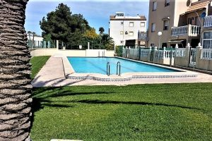 Two bedroom, one bathroom South-facing ground floor apartment for sale with sea views