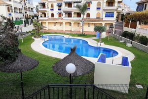 Well priced three bedroom, two bathroom top floor apartment for sale in La Mata